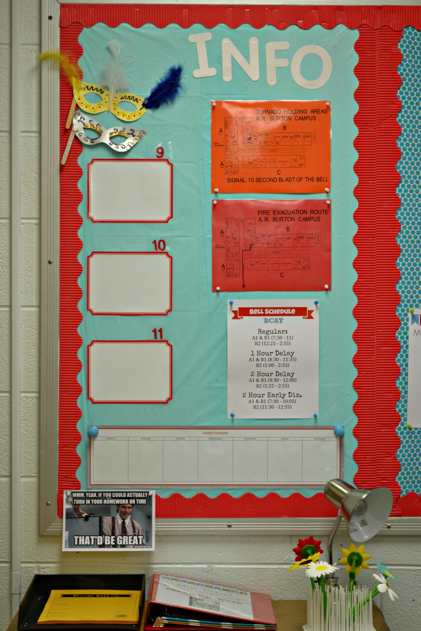 Classroom Decoration Ideas For High School : Decoration organization for the high school classroom