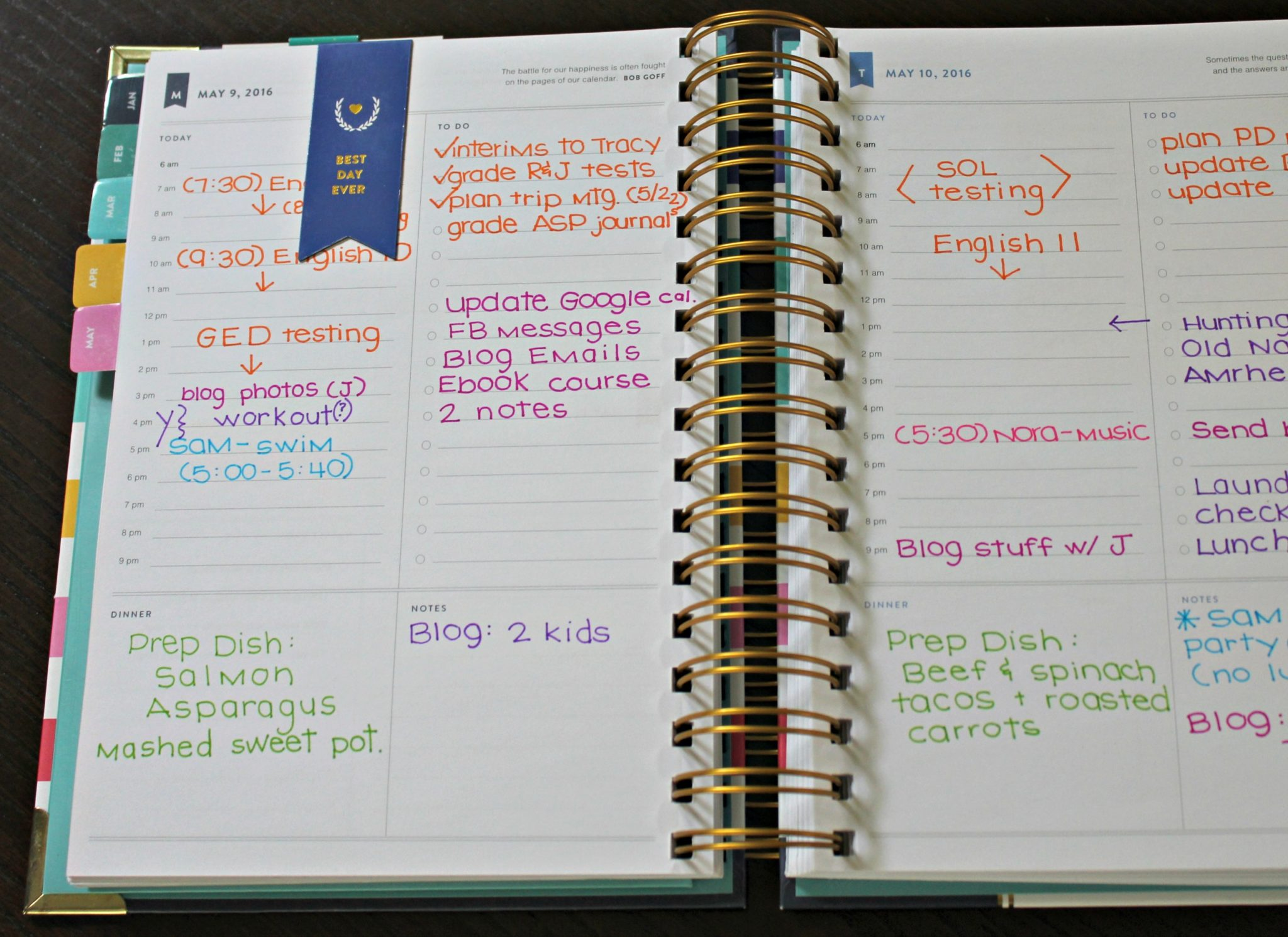 photo regarding Simplified Planner Emily Ley identify In just My Simplified Planner + What Im Employing Following